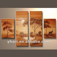 Popular abstract decorative oil painting(Animals + Landscape)
