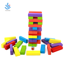 YF-M151 new hot sell popular Wooden Outdoor Games Large Wooden Jenga Wooden Stacking Game