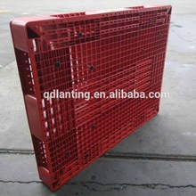 Factory direct!cheap colored eco-friendly plastic pallets with steels