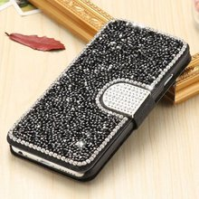 Luxury Bling Rhinestone Diamond wallet stand flip leather phone case for Apple iPhone 7 7plus 6 6s 6/6s plus 5 5s SE Cover