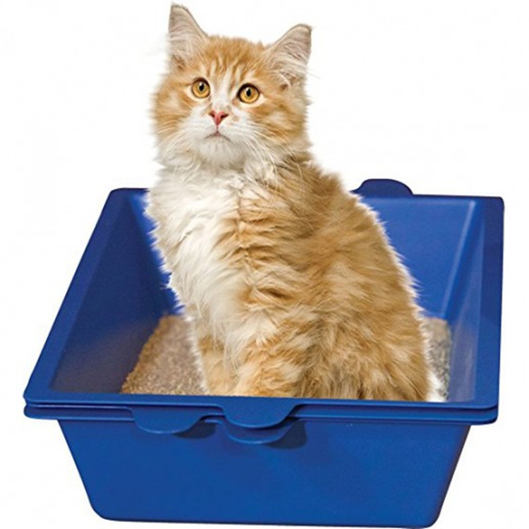 3 Sifting Cleaning System Indoor Pet Cat Toilet Cat Litter Tray