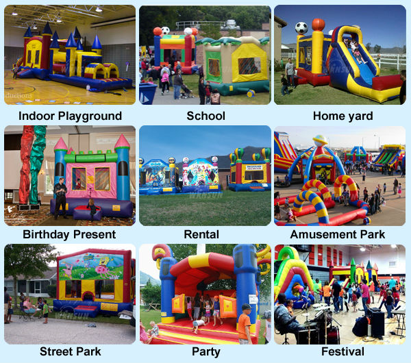 Usage-inflatable-bouncer-house