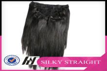 Different Length Available Wholesale Price 22 inch clip in human hair extensions