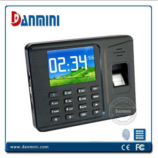Color Screen Biometrics Fingerprint & RFID Time Attendance With TCP/IP for Model A-F261