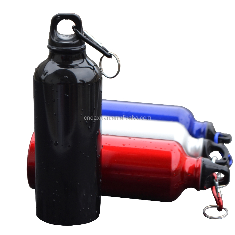 Sports bicycle camping aluminum alloy drinking water bottle 500 ml
