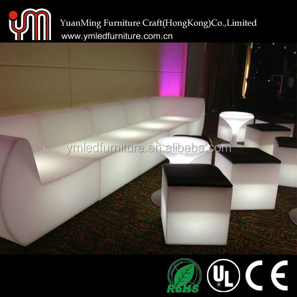 RGB Led Lighted Inflatable Furniture