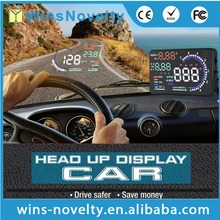 "A8 Car HUD Head Up Display OBD II OBD2 Auto Gauge 5.5"" Dash Screen Projector"