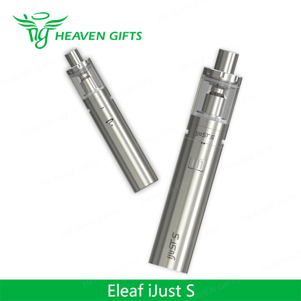 Alibaba express china 4mL 0.15ohm 3000mAh Eleaf iJust S Kit 18650 dual box mod