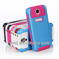 Hot Selling Hybrid Rubber Rugged Combo Matte Soft Cases Hard Cover For Samsung Galaxy S4 i9500