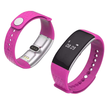 China YiXing hot sale bluetooth heart rate blood pressure and Oxygen blood bracelet/wristband monitor for gift promotion