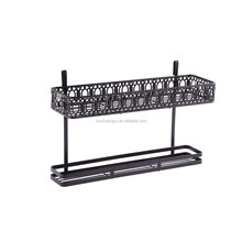 Metal Iron Hanging Kitchen Tool Knife Organizer Rack