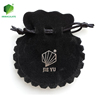 Soft Drawstring Wholesale Custom Printed Logo Cloth Microfiber Jewelry Gift Pouches/ Bag