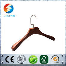 Brand new bulk wooden clothes hanger wholesale with notches wooden hair hanger high quality wholesale wooden hangers