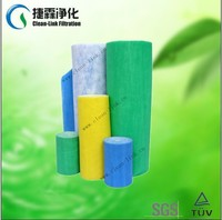 Promotion price pre filter cotton air inlet filter cotton roll pre fIlter material for spray booths