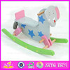 Elephant design wooden rocking horse toy for children WJY-8011