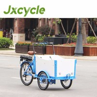 electric bicycle cargo with 8F mid-engine for france