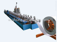 YTSING-YD-0302 Pass CE Roll Shutter Spring Machine for Door Cutting without Stop