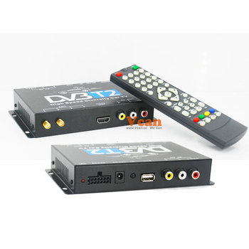Germany Car DVB-T2 H.265 HEVC Freenet New Model FTA automobile H264 MPEG4 HD diversity dual antenna 2 tuner