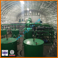 waste oil re-refinning system, used motor oil recycle machines through vacuum distillation technology