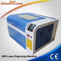 Water Cooling And Protection System 4060 50W CO2 Mini CO2 Laser Engraver
