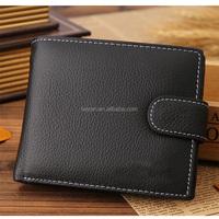 Wholesale Genuine Leather Short Men's Wallet