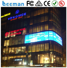 LED Media Facade Transparent glass led display