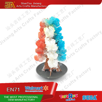 2017 factory directly mini magic paper tree growing Christmas tree