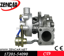 K18 material CT9 turbo for toyota Hiace, Hilux, Land Cruiser 17201-54090 with 2L-T engine