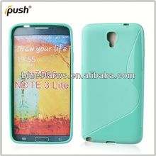 made in china for galaxy note3 lite n7505 tpu case dual color bumper cases for samsung note3