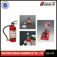 Funny Fire Extinguisher Shape lighter Gas Style zinc alloy Material cigar lighter