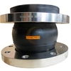 carbon steel flanged single sphere epdm flexible rubber expansion joint