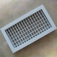 popular hvac air conditioning ceiling register double deflection grilles