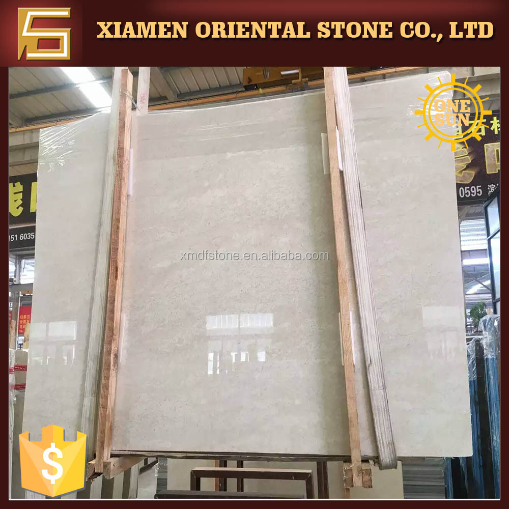 2016 Turkey hot sale beige marble home decor for project