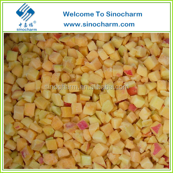 Frozen Apricot IQF Diced Apricot