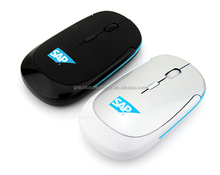 2017 christmas giveaways ultra slim wireless optical mouse