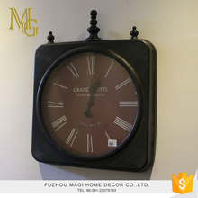 Countryside style antique metal metal clock frame