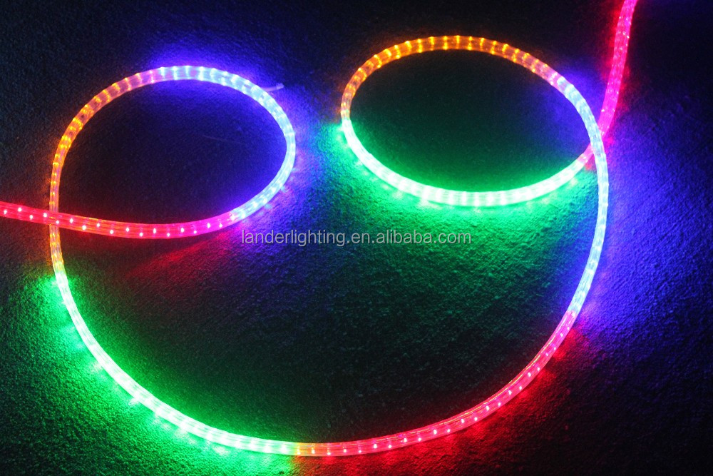 Decoration Neon 100 meters 2016 hot sale cheap price high performance 3 wires underwater led rope light