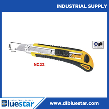 hot sale 18mm utility knife, cutter,single blade auto-load utility knife plastic box cutter safety utility knife