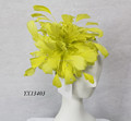 Yellow perfect quality fascinator/party fascinator/races fascinator/wedding fascinator/fascinator wholesale