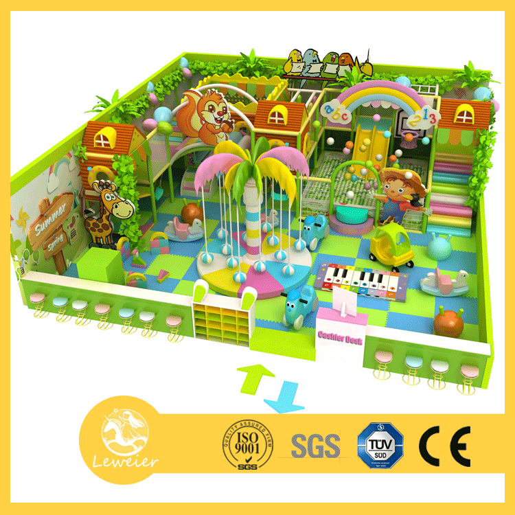 Hottest Amusement Park Projects Kids Soft Indoor Play Center