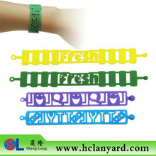 Colorful Magic Silicone Band with different shape