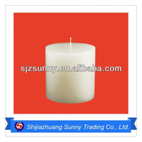 Wholesale White Candles In Paraffin Wax