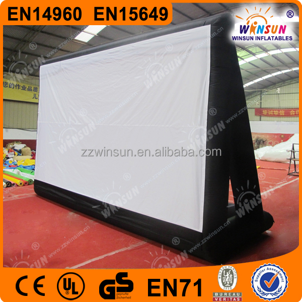 2015 Giant advertising inflatable movie screen for sale
