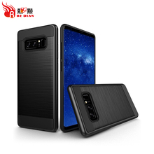2017 anti shock case for samsung note 8,anti shock 2 in 1 bumper case for samsung galaxy note 8 case