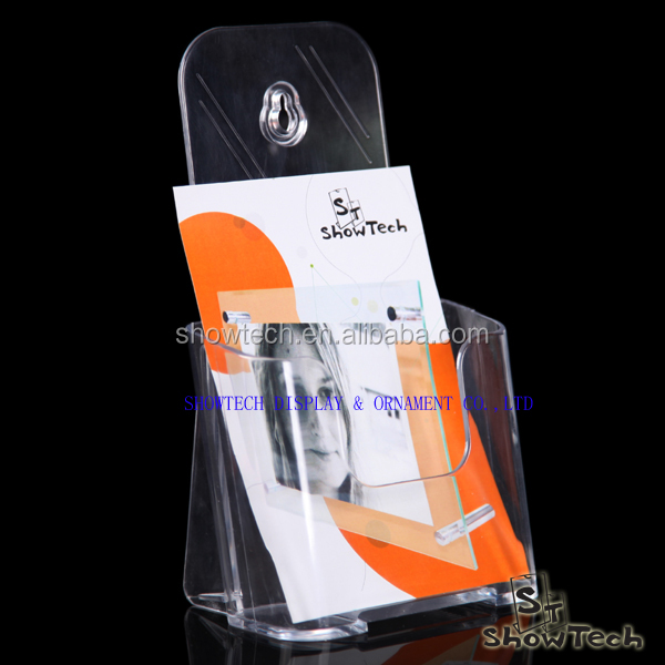 Different size A3 A4 A5 Acrylic Brochure Holder Brochure Display Stand Plexiglass Brochure Stand Holder