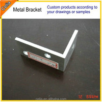 Zinc plated or powder coated small l brackets
