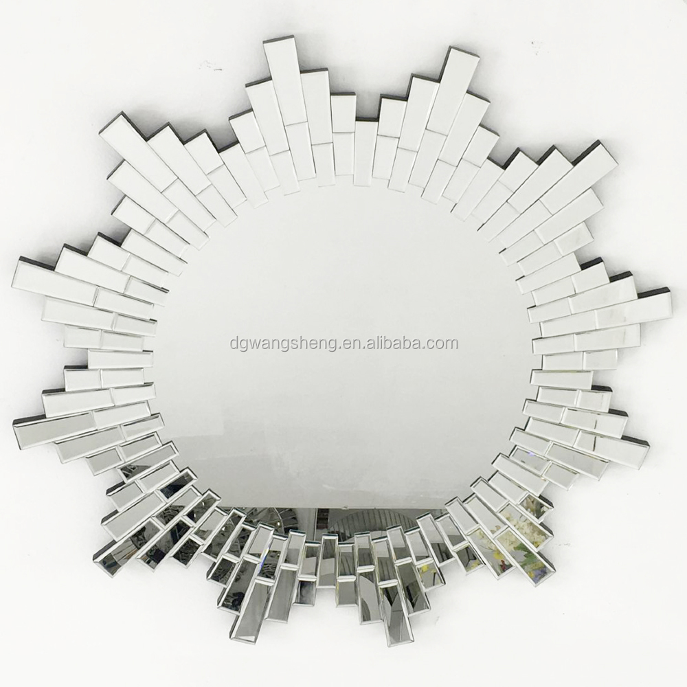 Sun Shaped Venetian joint wall hang mirror