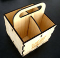 Factory supplier wicker picnic lining hand carved wood storage basket