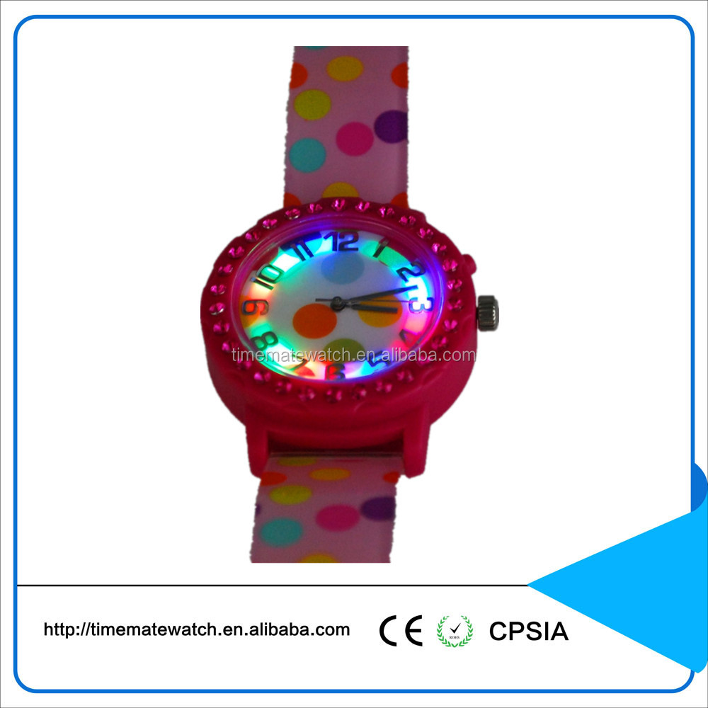 Good Quality Hole Sale Silicone Rubber Led Sport Wrist Watch For Children
