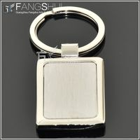 wholesale cheap die shape zinc alloy blank metal key chain